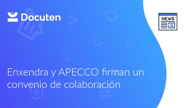 Enxendra y APECCO firman un convenio de colaboración