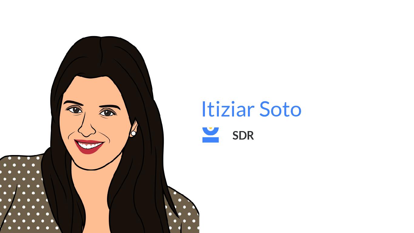 Itziar Soto. Sales Development Representative