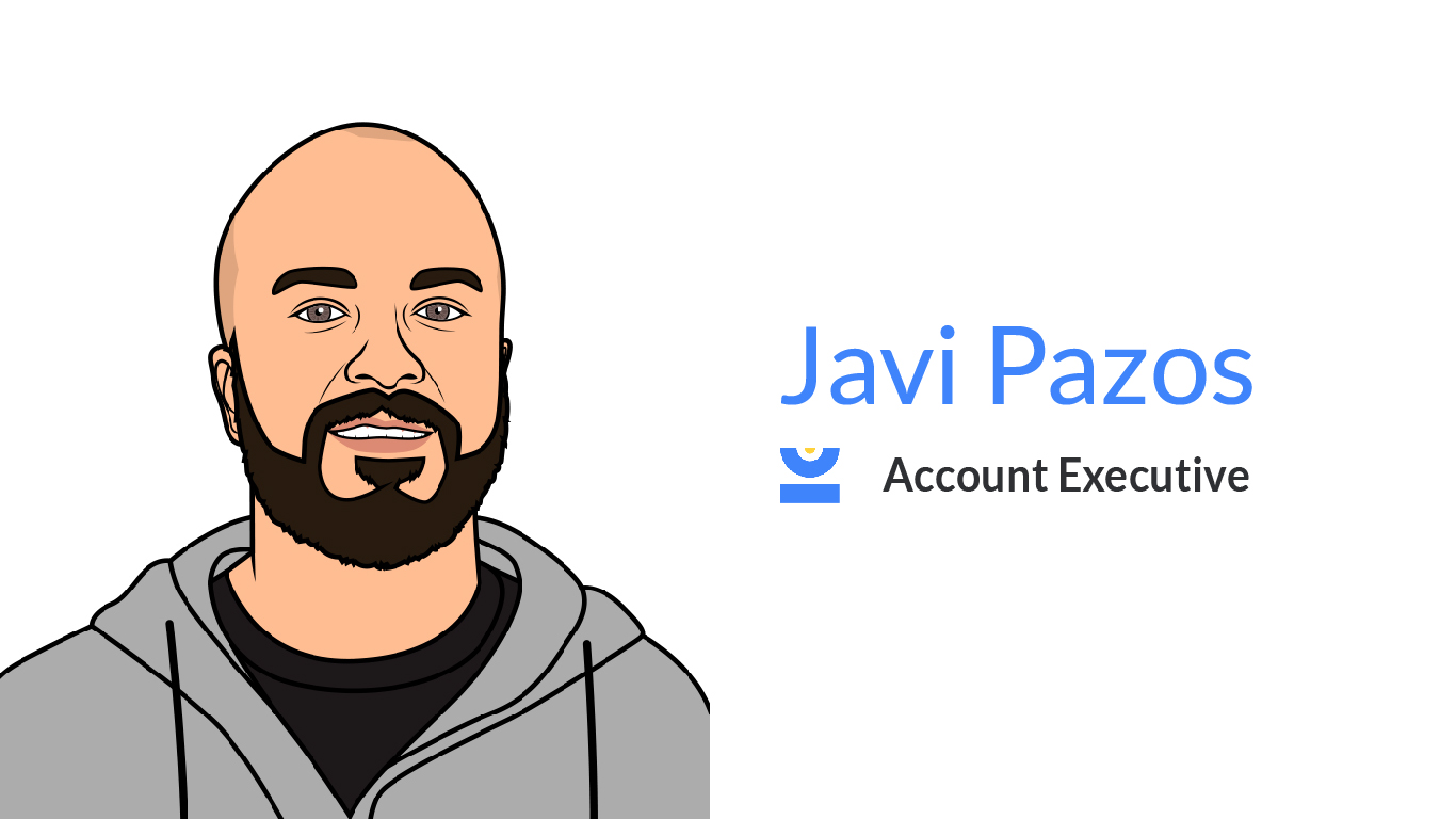 Javi Pazos. Account Executive