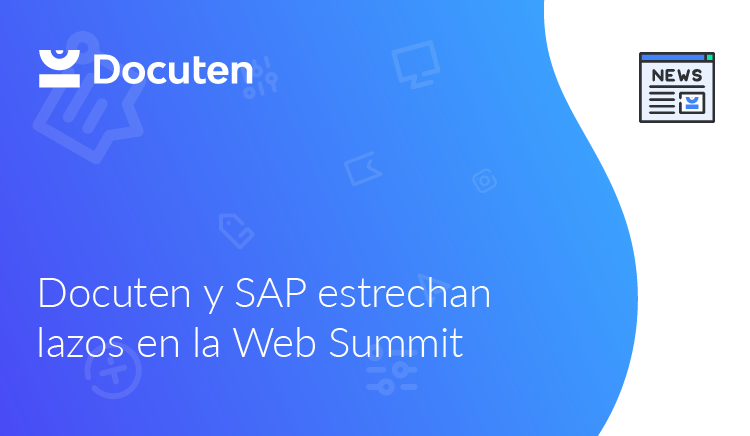 Docuten y SAP estrechan lazos en la Web Summit