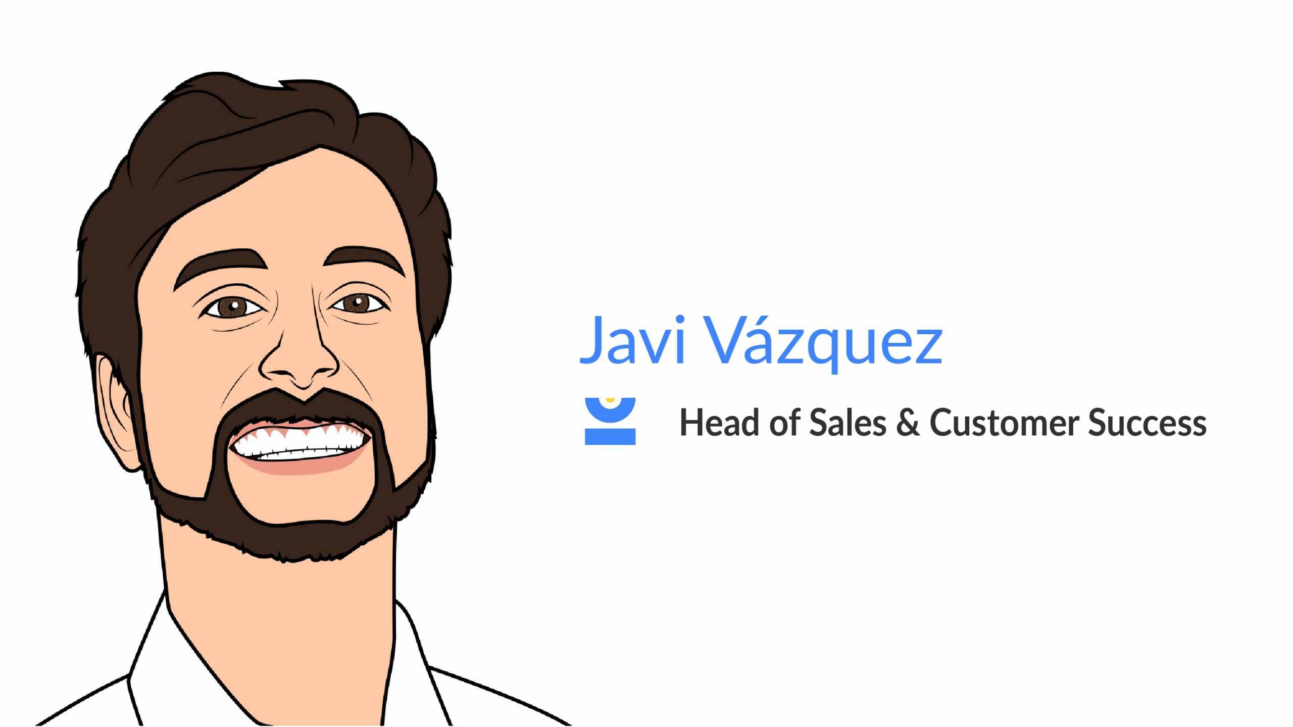 Javi Vázquez. Head of Sales