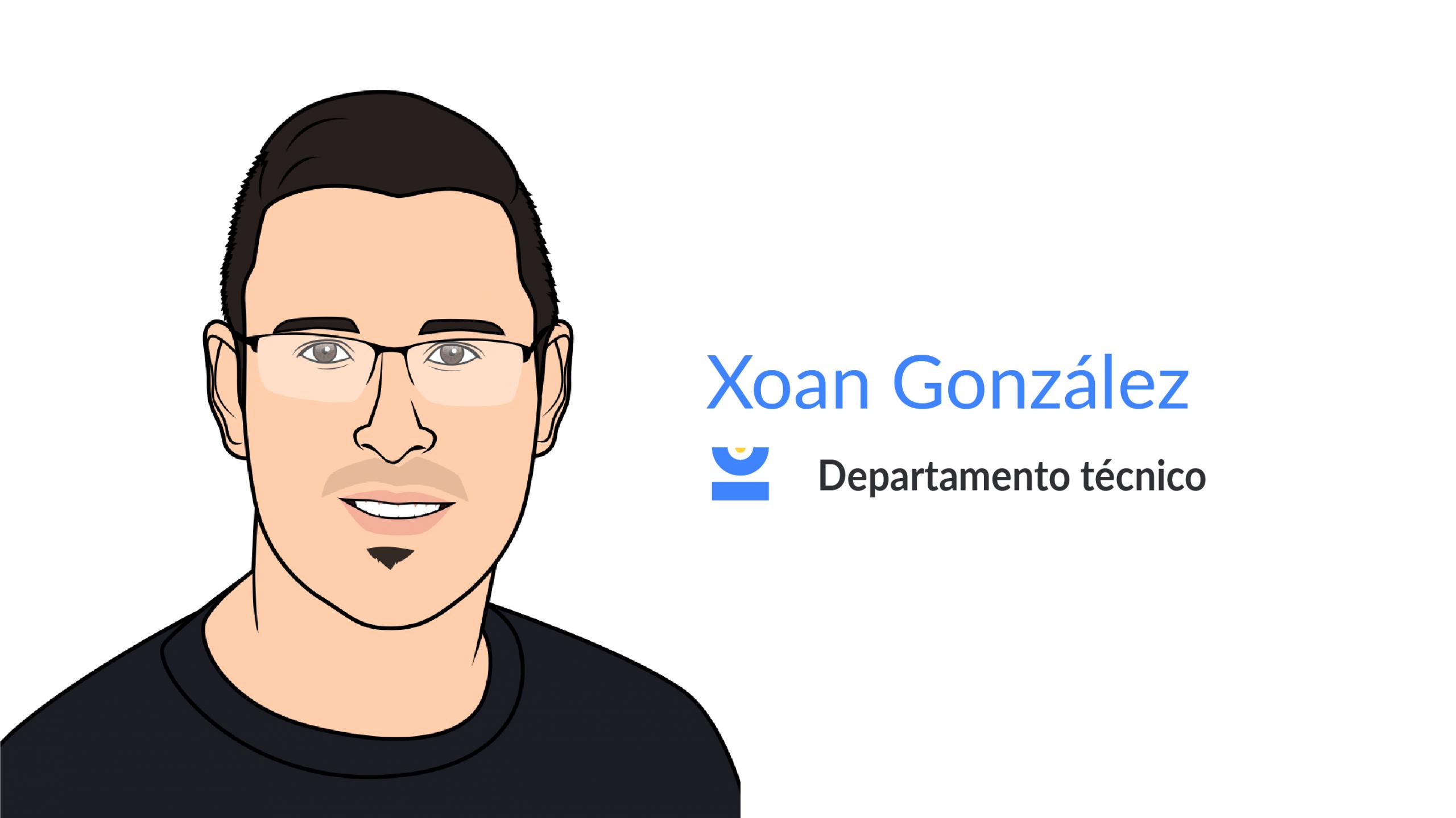 Xoan González. Departamento técnico