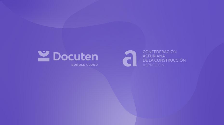 La Confederación Asturiana de la Construcción firma un convenio con Docuten para eliminar el papeleo en el sector de la construcción