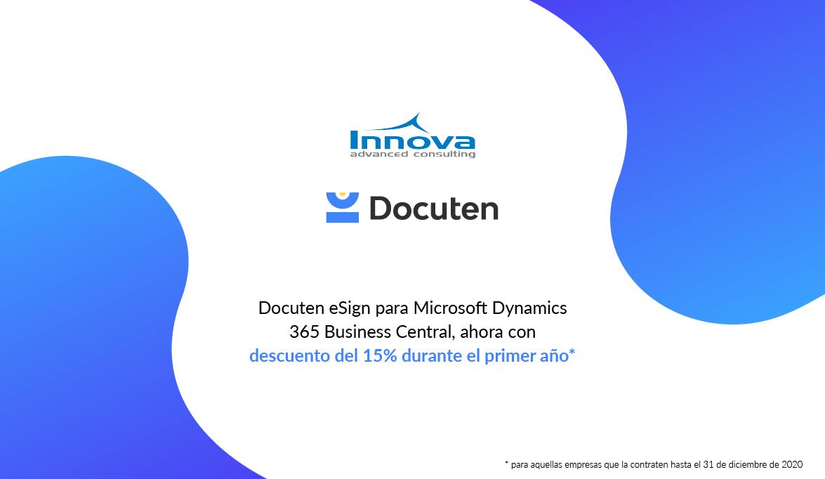 Promoción Docuten eSign: 15% de descuento en firma digital
