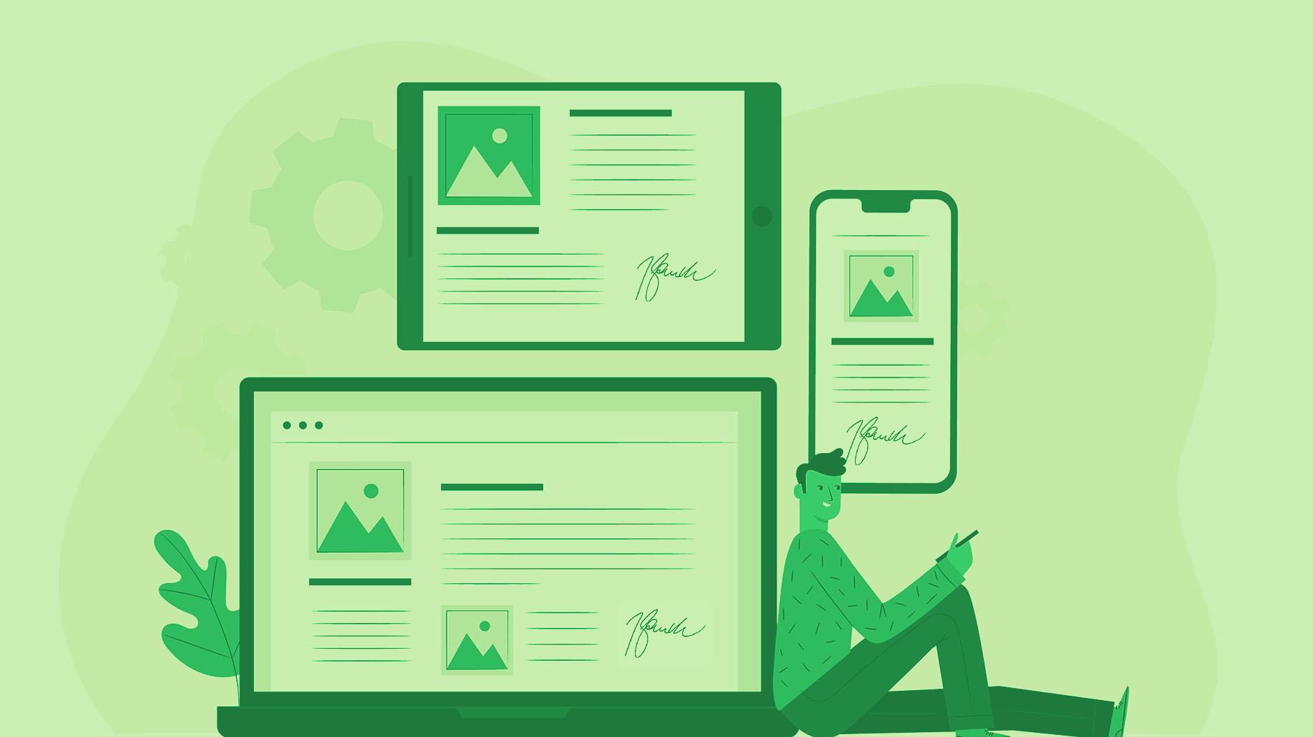 Firma digital en todos los dispositivos