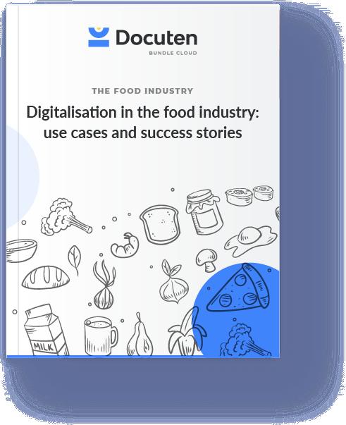 food industry digitalisation - invoice reception